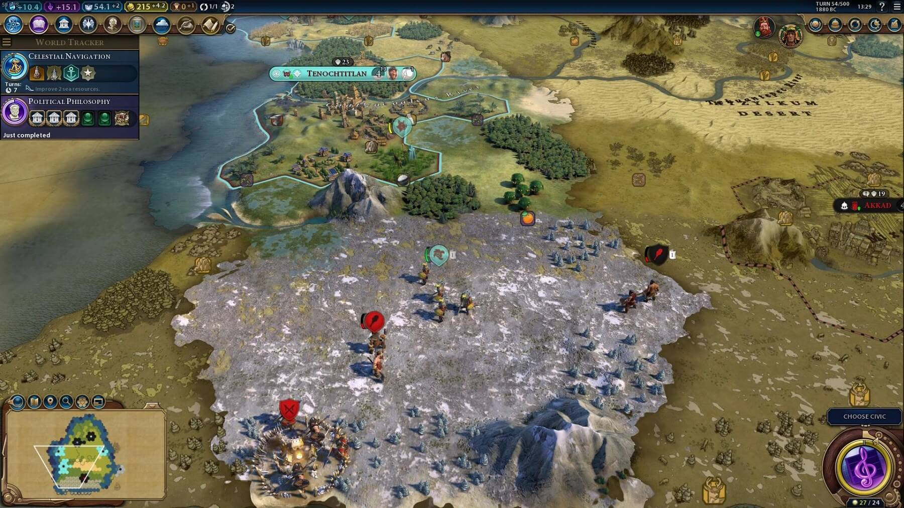 This Civilization VI mod makes the game look more like Civ V