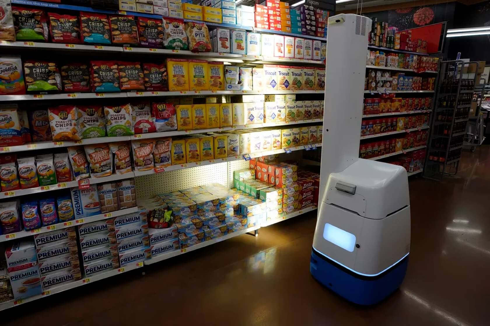 At Any Rate To Start With Walmart Will Be Bringing These New Robots 1500 Locations Throughout The US Given That Retail Chain Is Estimated Have