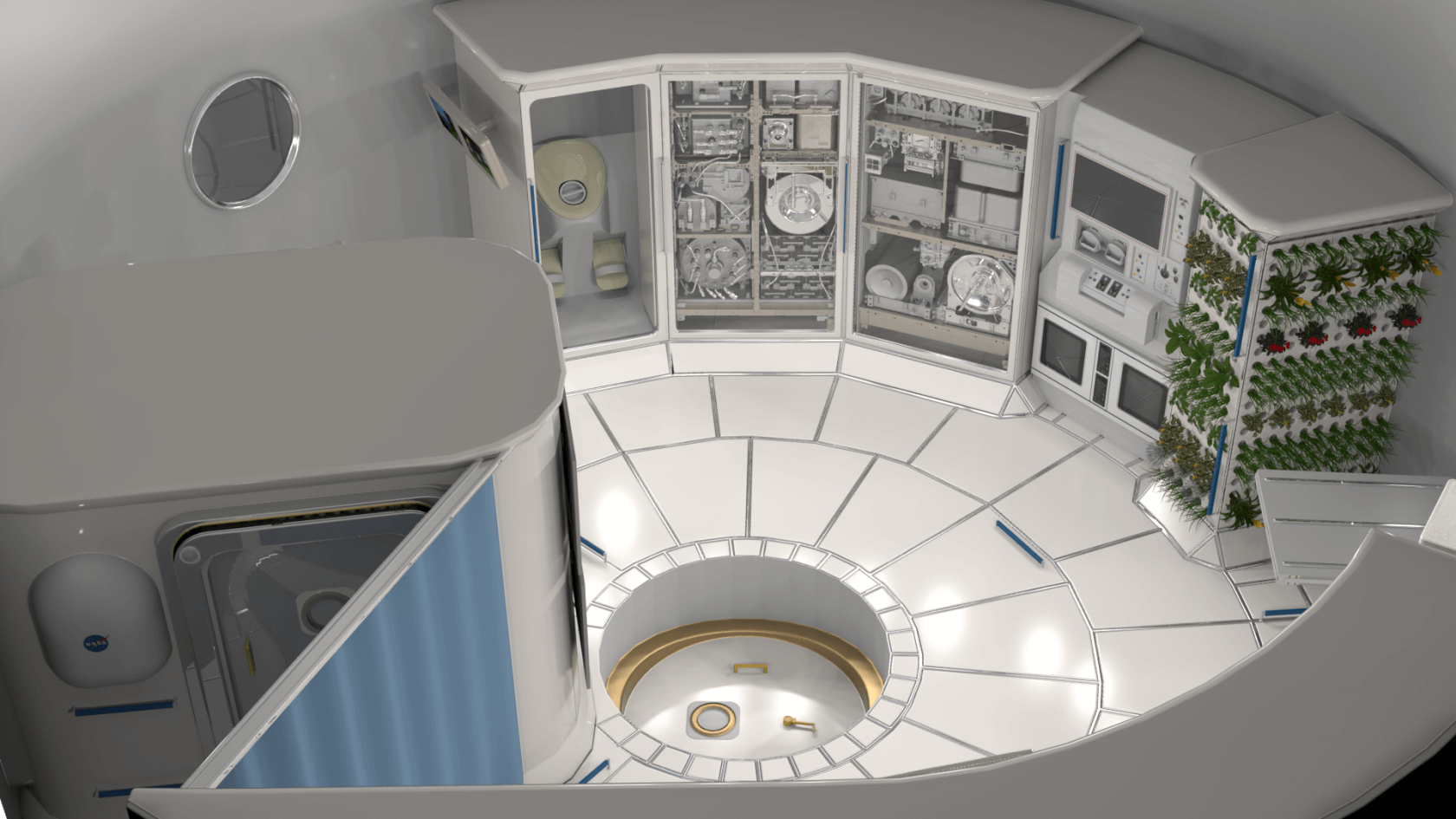 NASA is awarding $30 million to two research institutes to develop automated space habitats