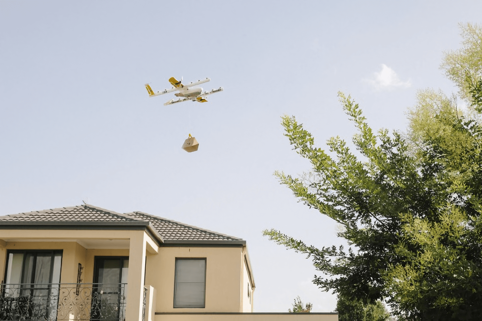 Google's drone delivery service takes off in Australia