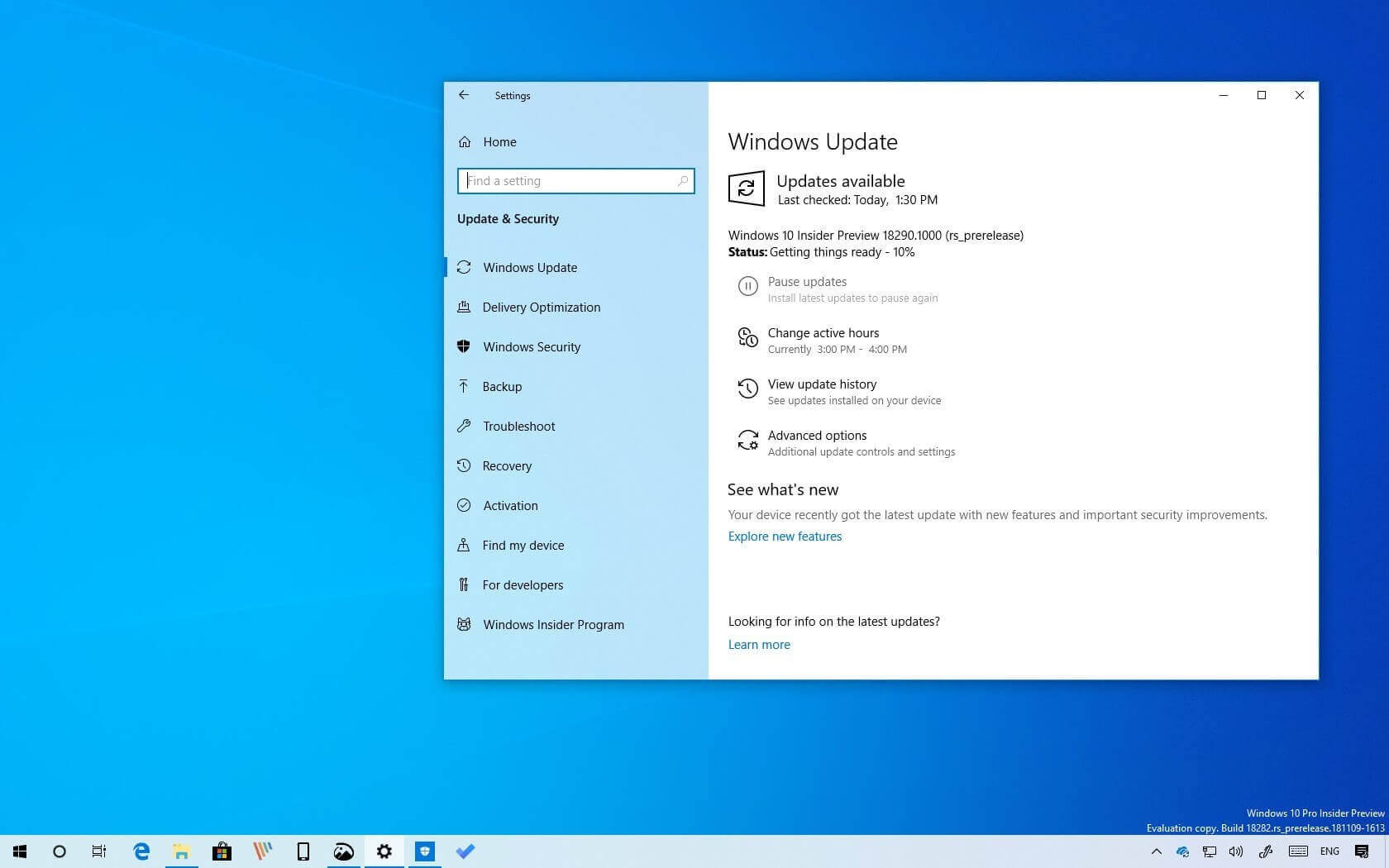 Windows updates are at it again, reportedly hanging and