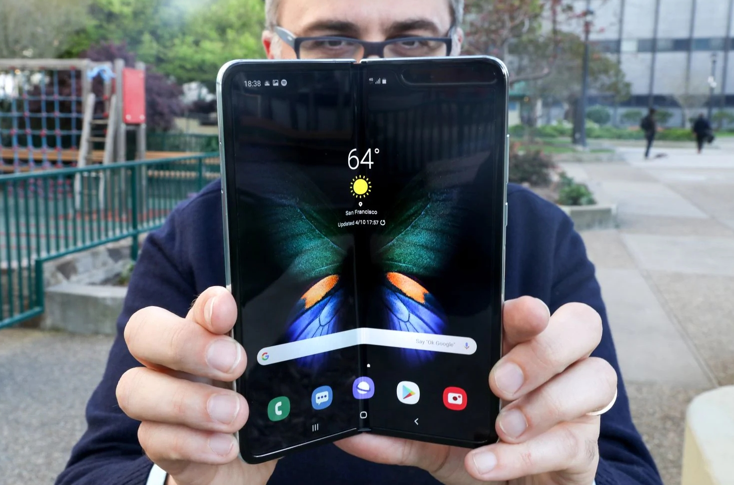 Samsung Galaxy Fold hands-on round-up: Optimism prevails
