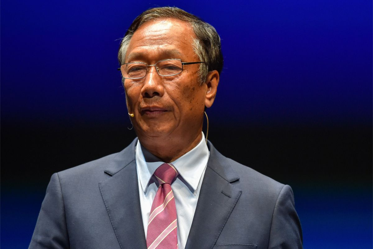 Foxconn founder Terry Gou is stepping down to make way for next generation of leadership