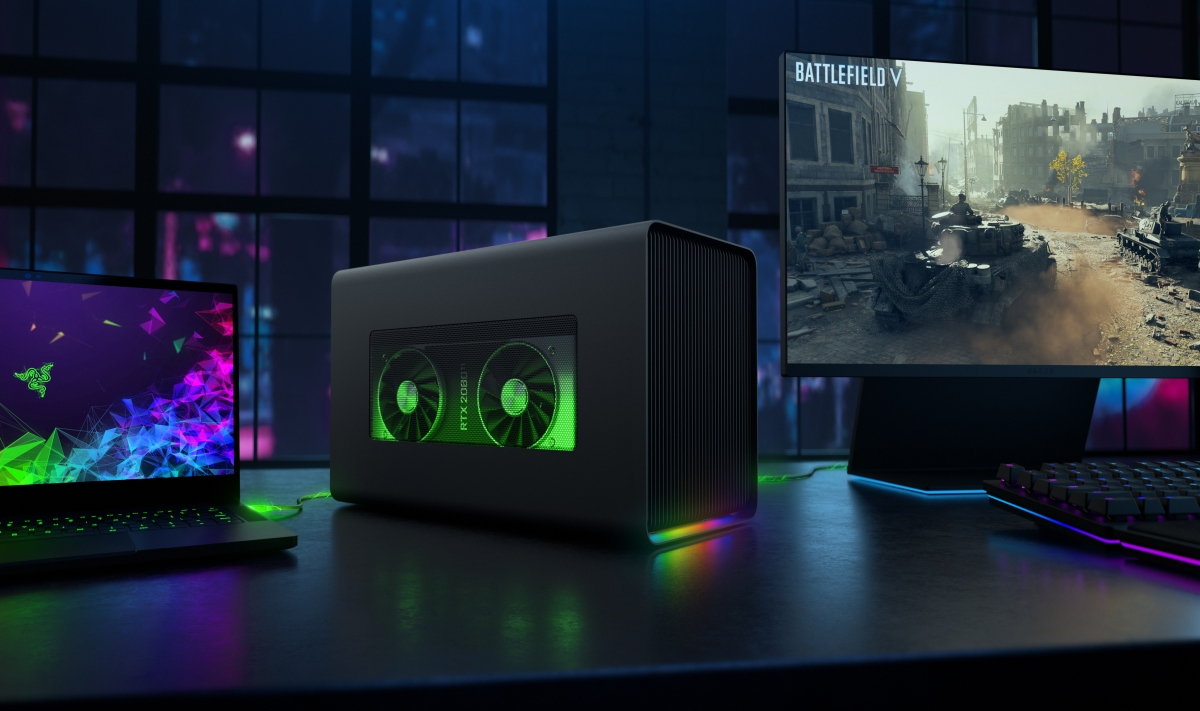 Razer's Core X Chroma eGPU Gets a Threefold Boost