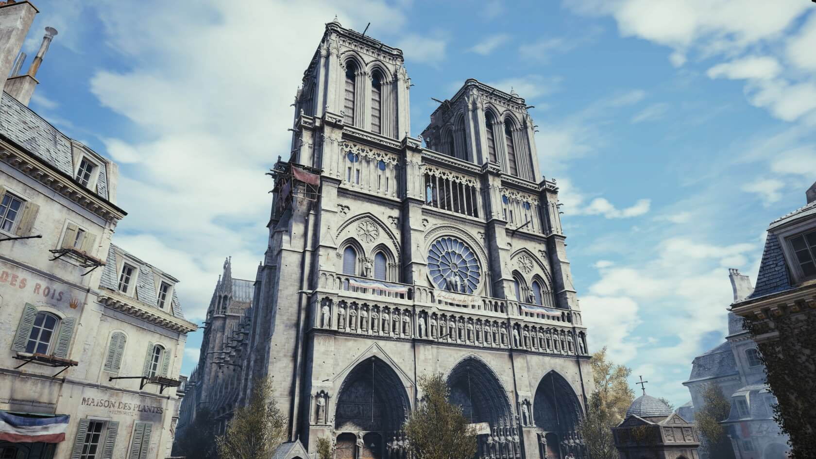 Ubisoft launches Assassin's Creed Unity giveaway and donates €500,000 to aid in Notre Dame's restoration