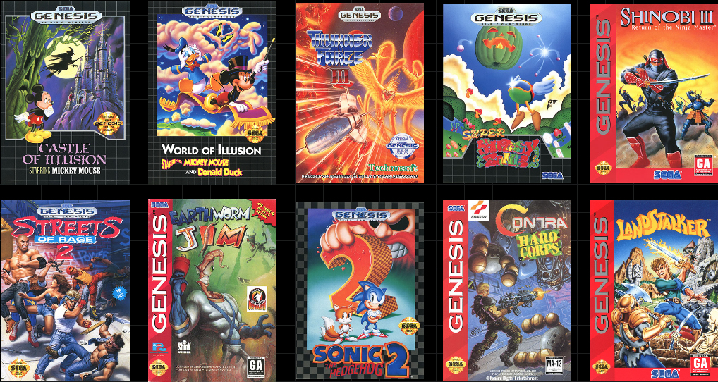 Sega Adds Earthworm Jim Sonic The Hedgehog 2 And More To The Genesis Mini Line Up Techspot Forums