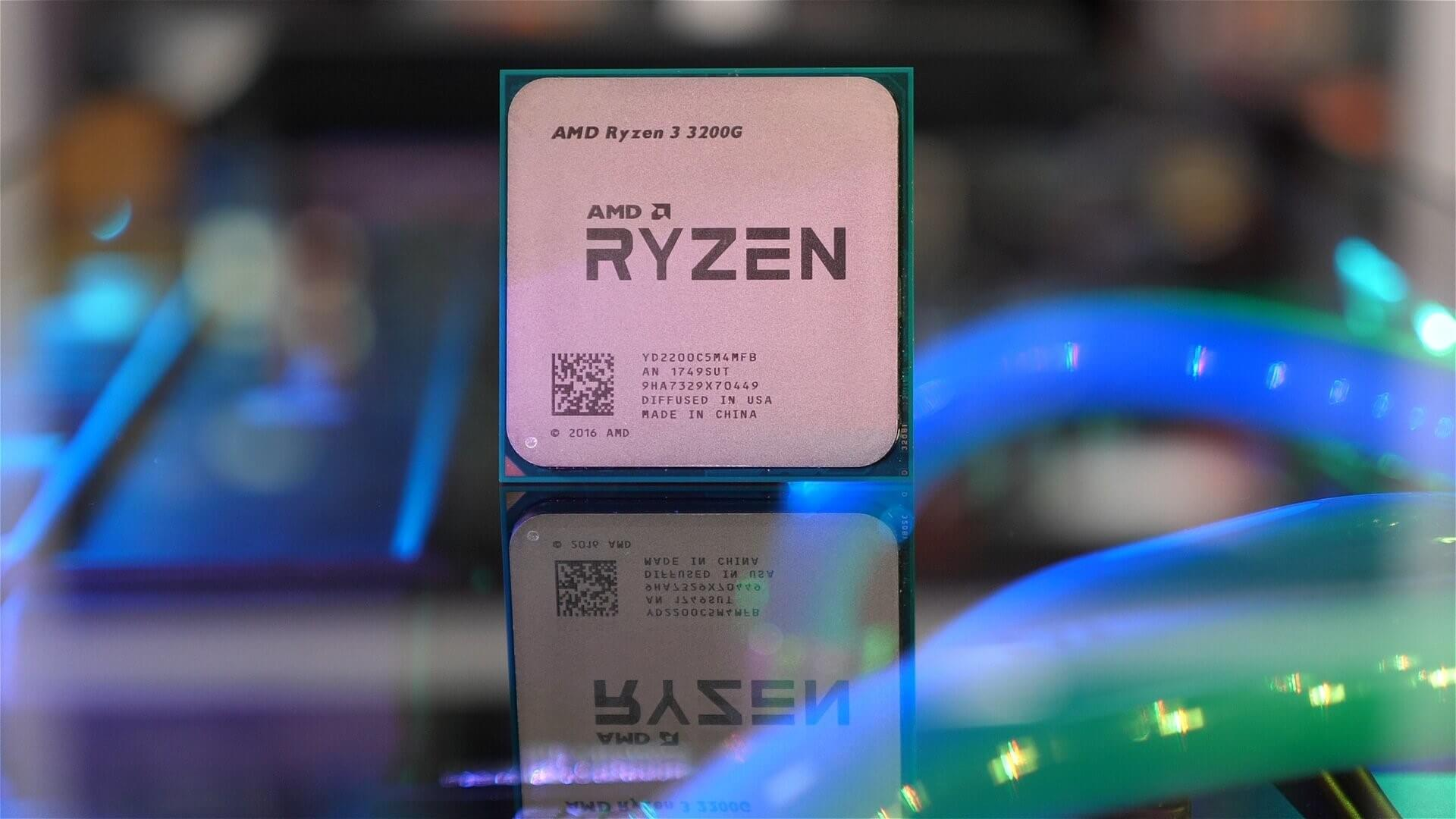 Ryzen 3200G and 3400G leaked and photographed - TechSpot