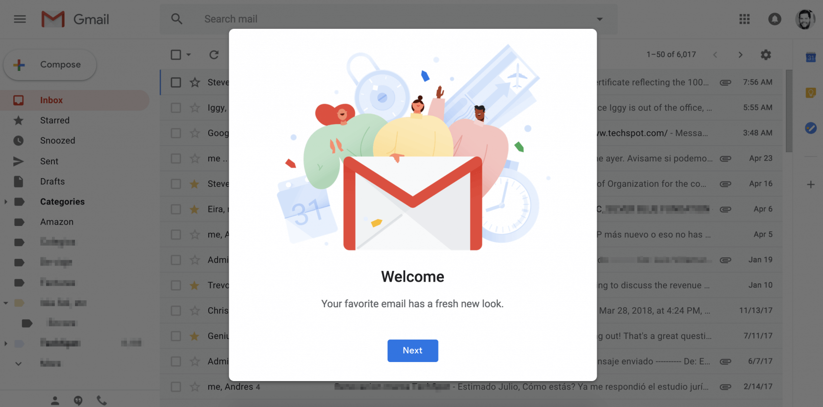 Meet Simplify, a Chrome extension that promises to clean up Gmail's cluttered interface
