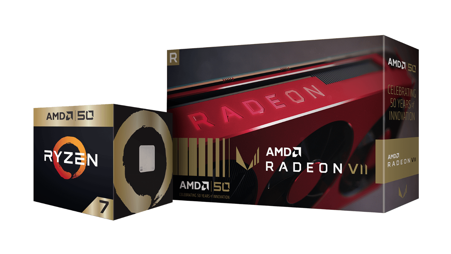 AMD confirms Gold Editions of Ryzen 7 2700X and Radeon VII, alongside free games and more
