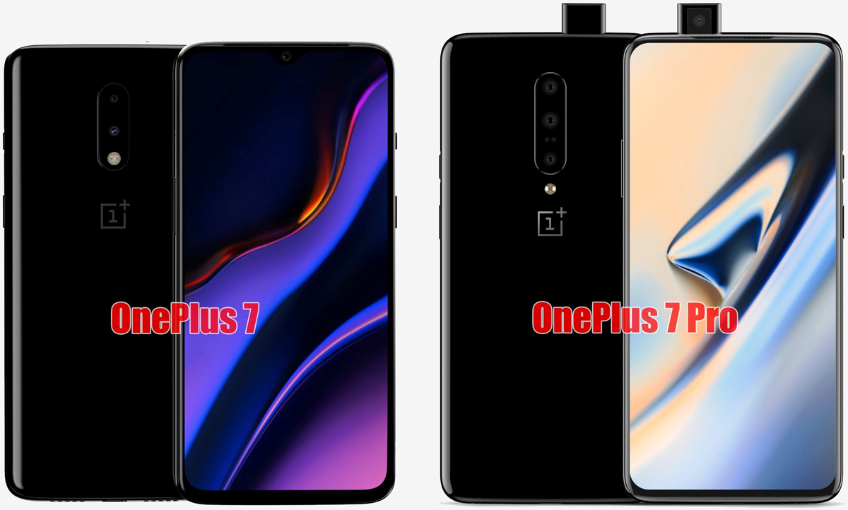 OnePlus 7 vs. OnePlus 7 Pro: Specifications leak