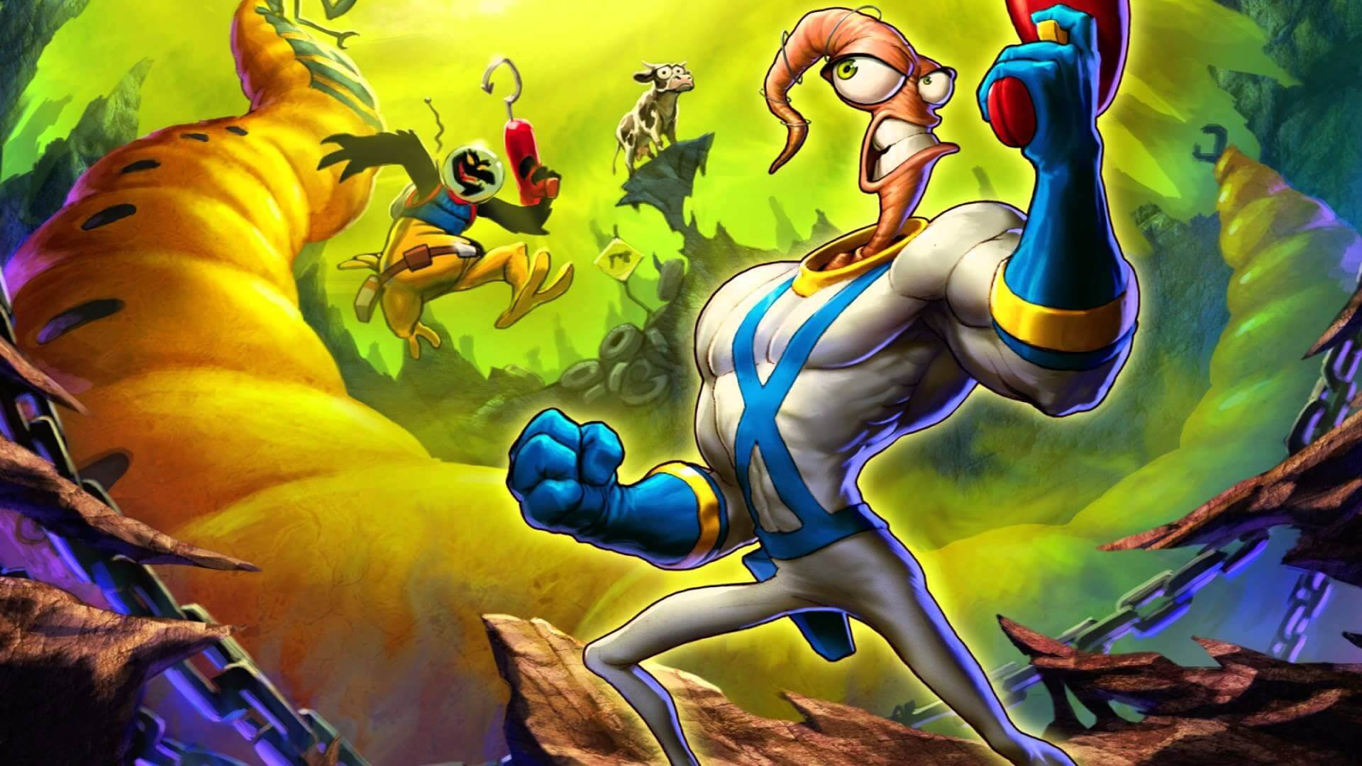 Earthworm Jim is back, but he's locked behind a $150 console