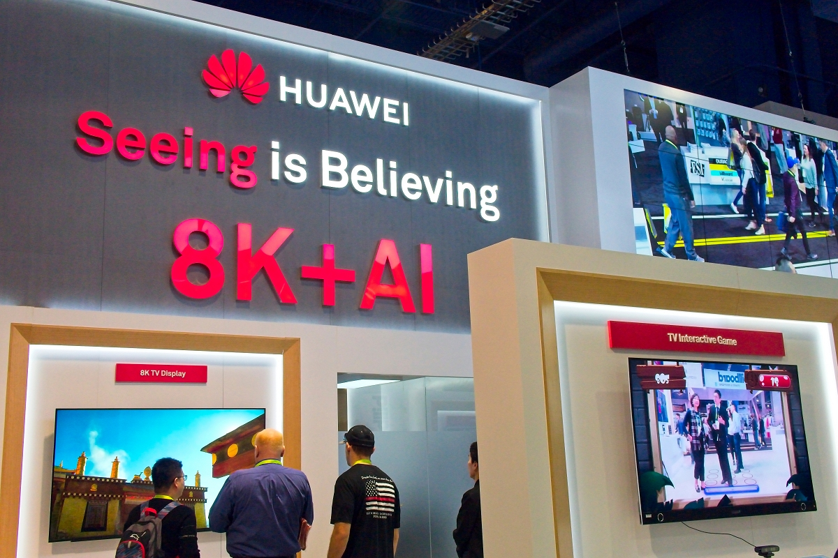 Huawei is working on a 5G 8K TV for later this year
