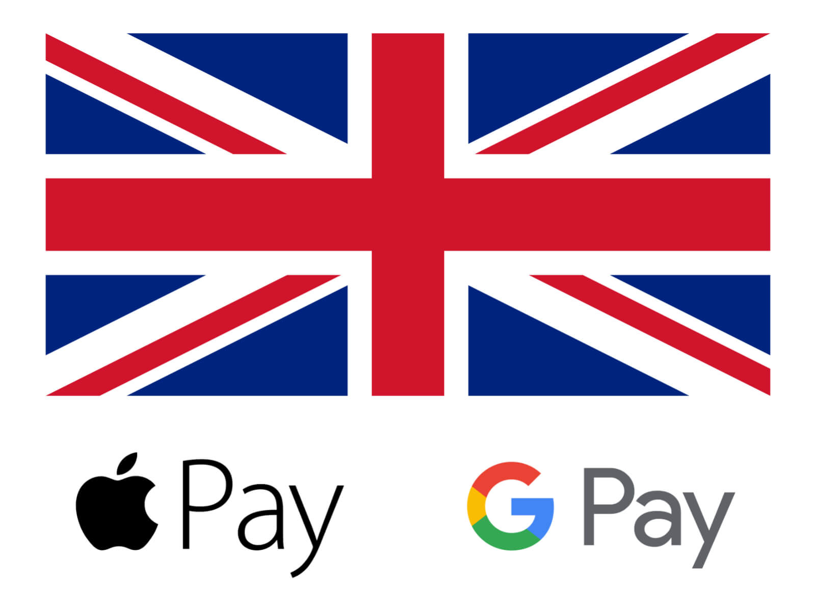 The UK government now supports Apple and Google Pay for some services