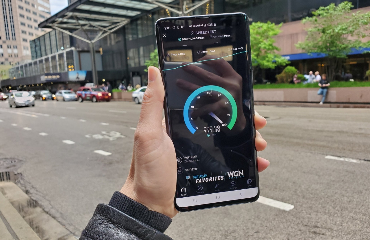 Testing Verizon's 5G network in Chicago with the Galaxy S10 5G