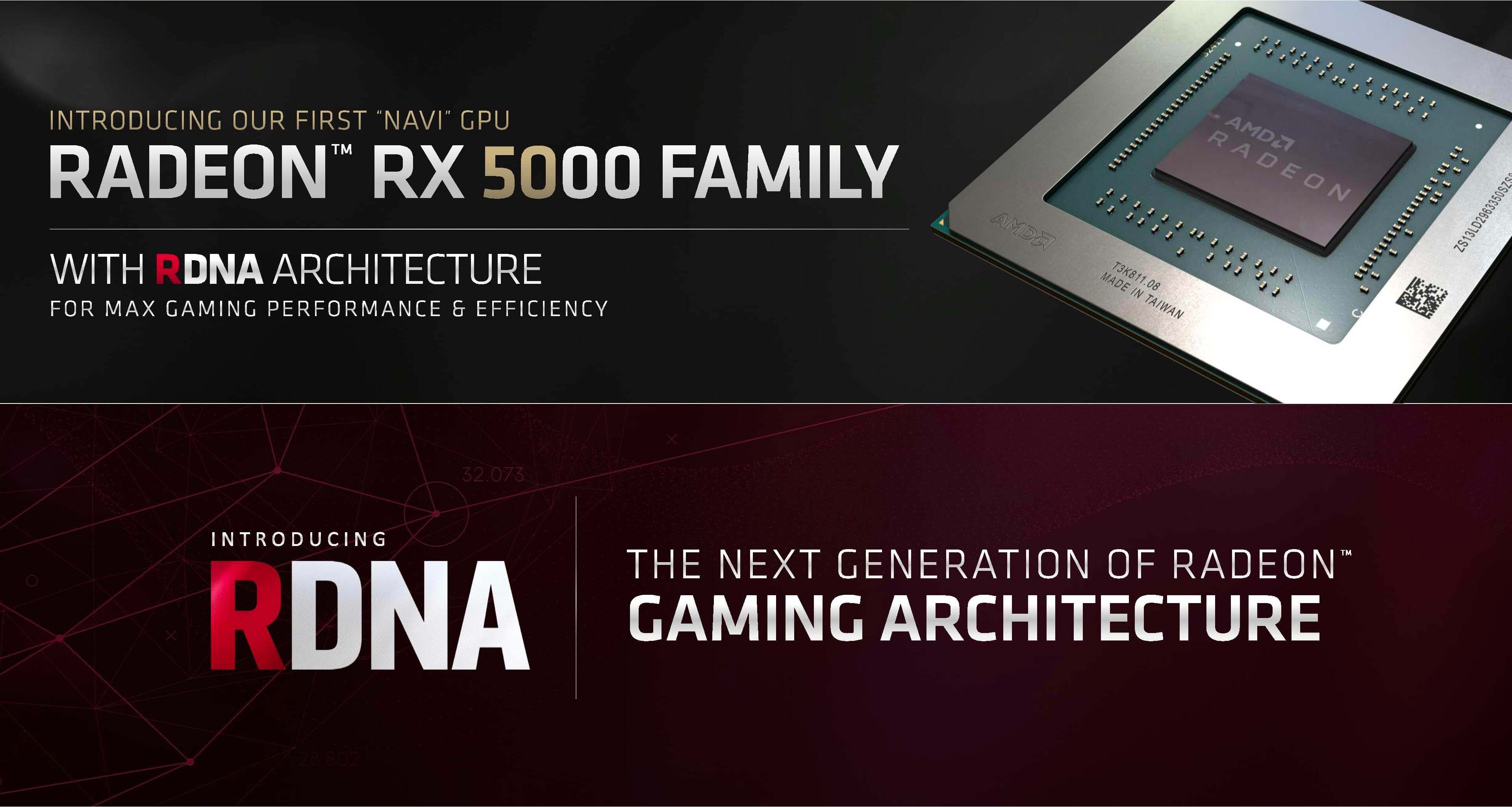 AMD's Navi GPU debuts in July with the Radeon RX 5700 series