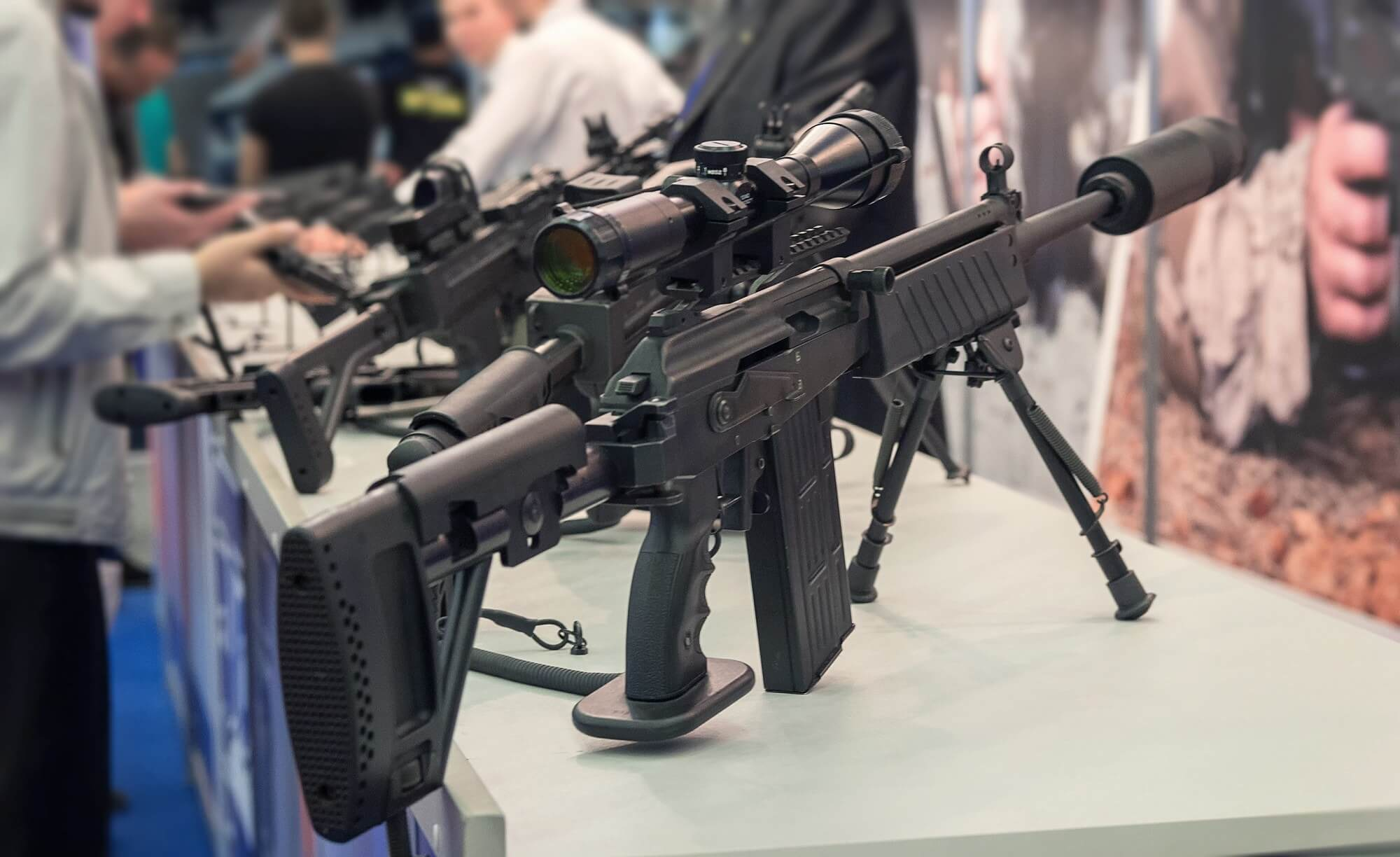 Salesforce says companies that sell semi-automatic weapons can't use its software