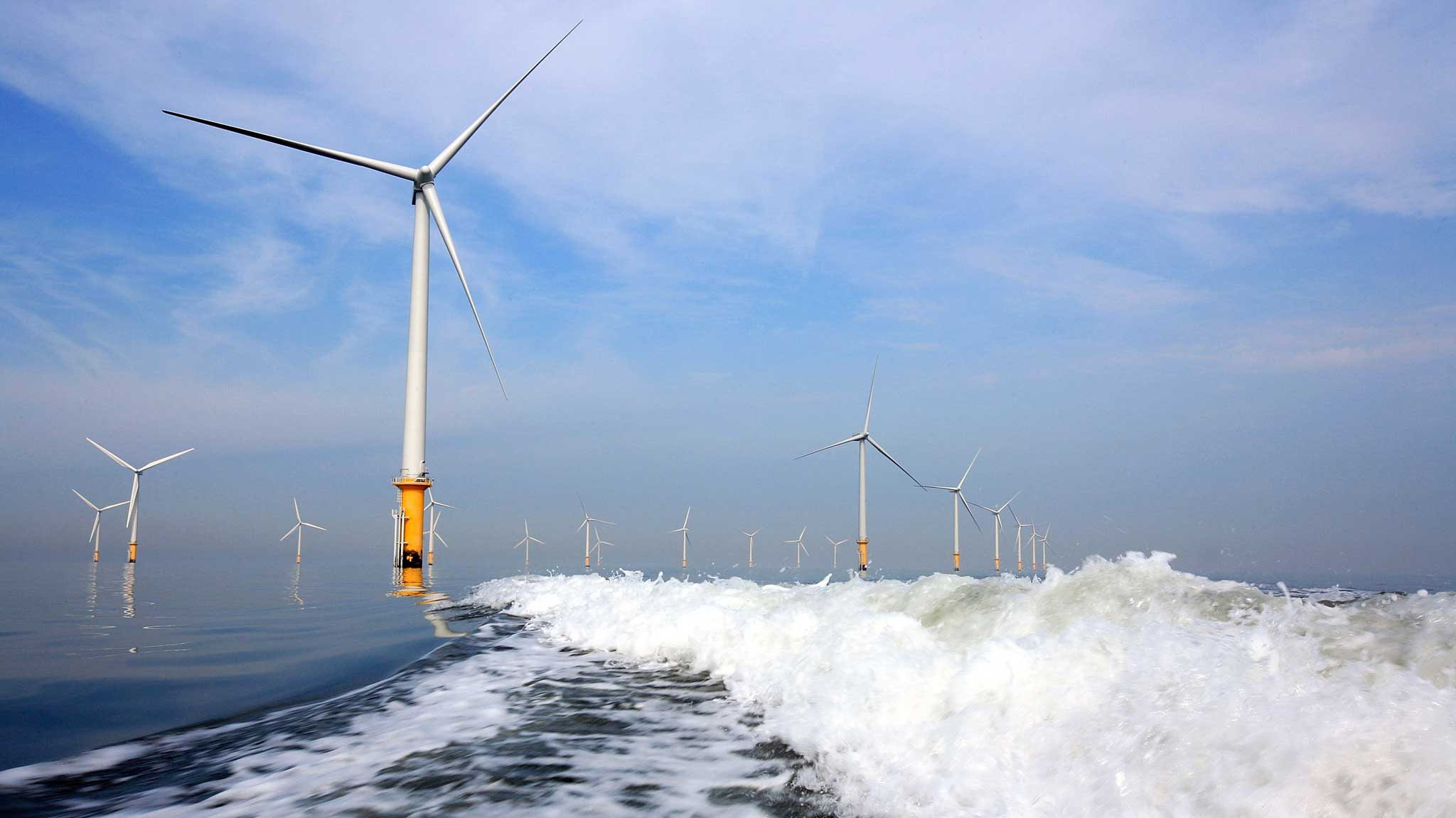 World's largest offshore wind farm goes online in the UK