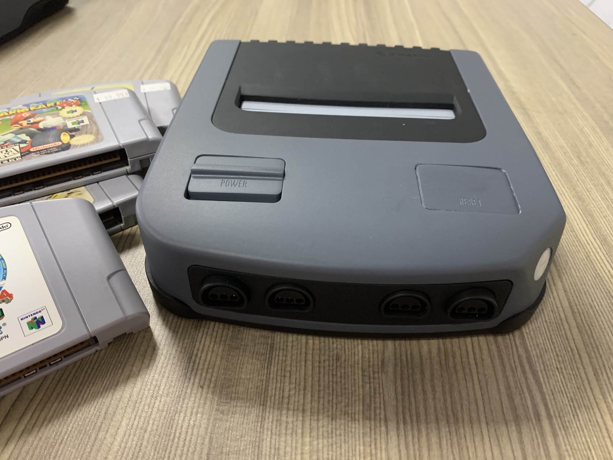 Check out this video of a N64 clone that will be at E3