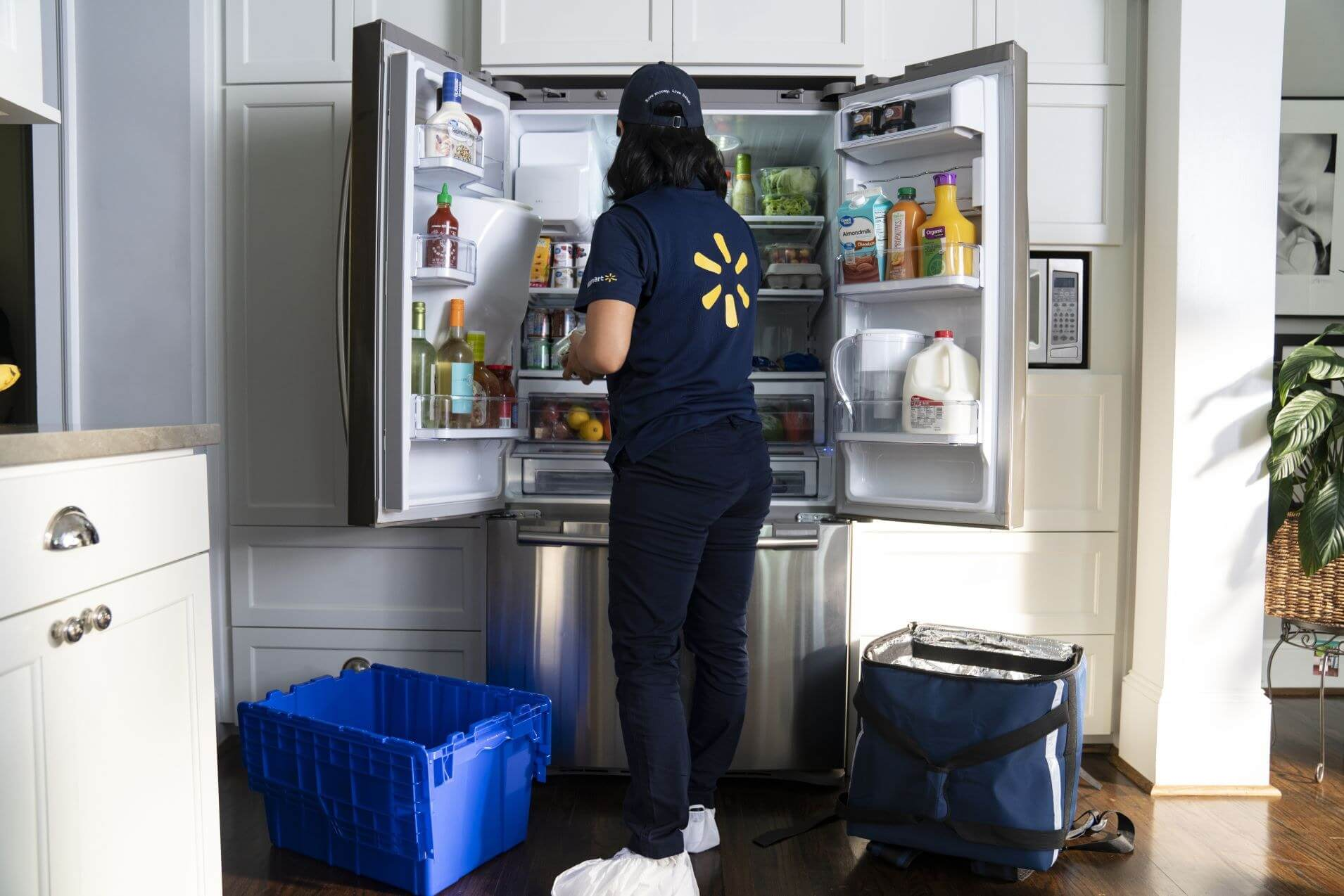 Walmart will deliver groceries to your refrigerator