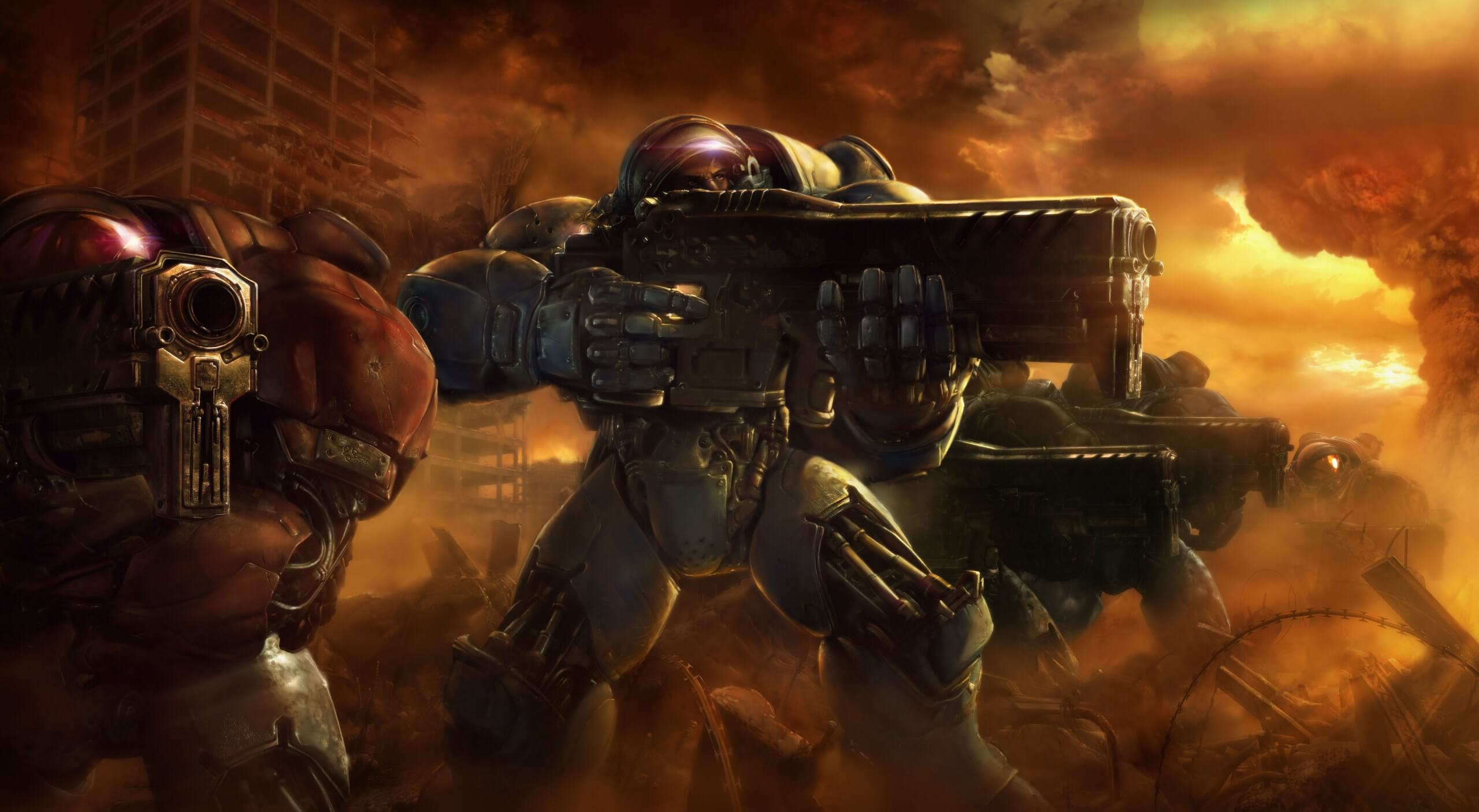 Blizzard reportedly canned a StarCraft FPS to ramp up