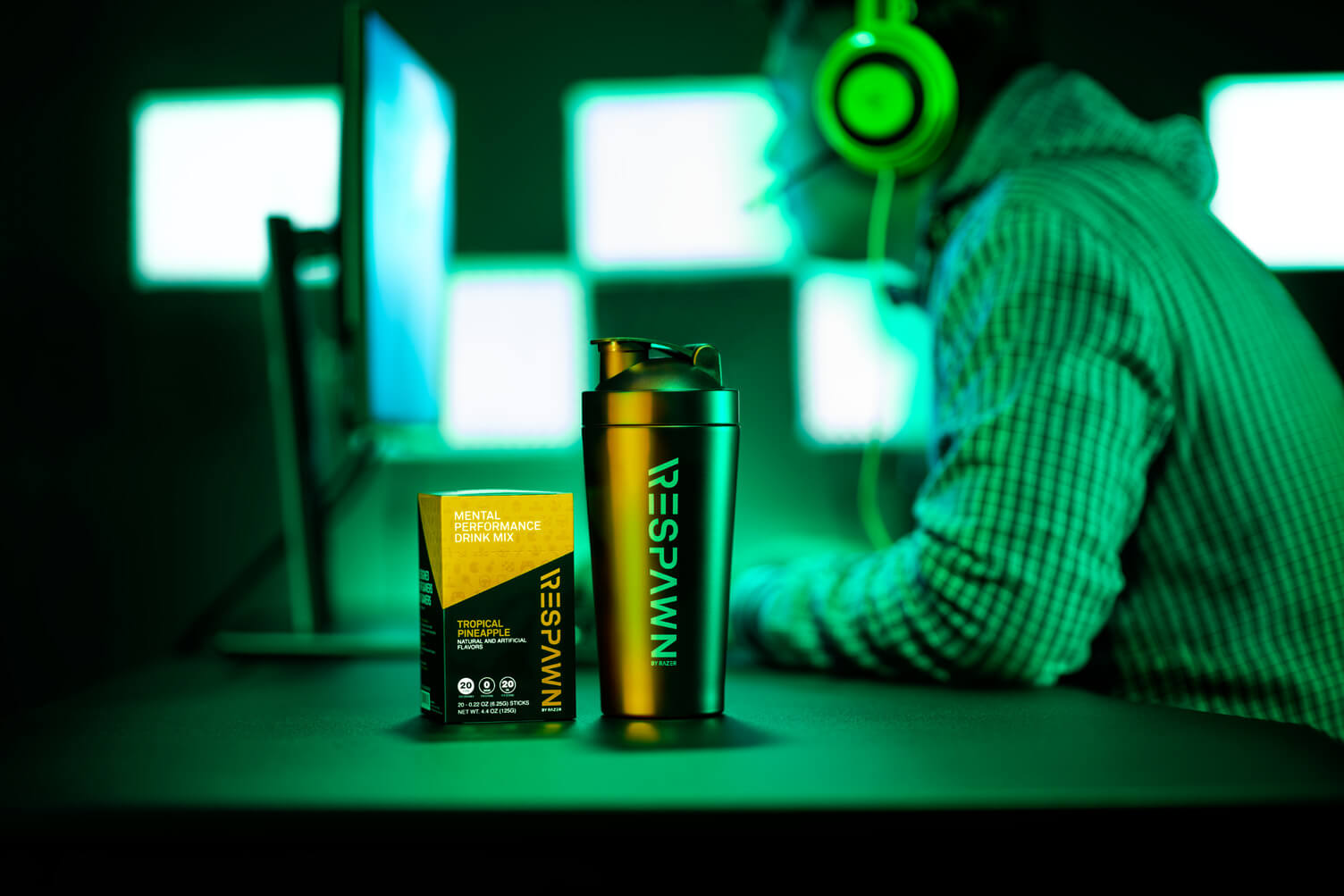 Razer S Respawn Drink Mix Is Meant To Heighten Mental