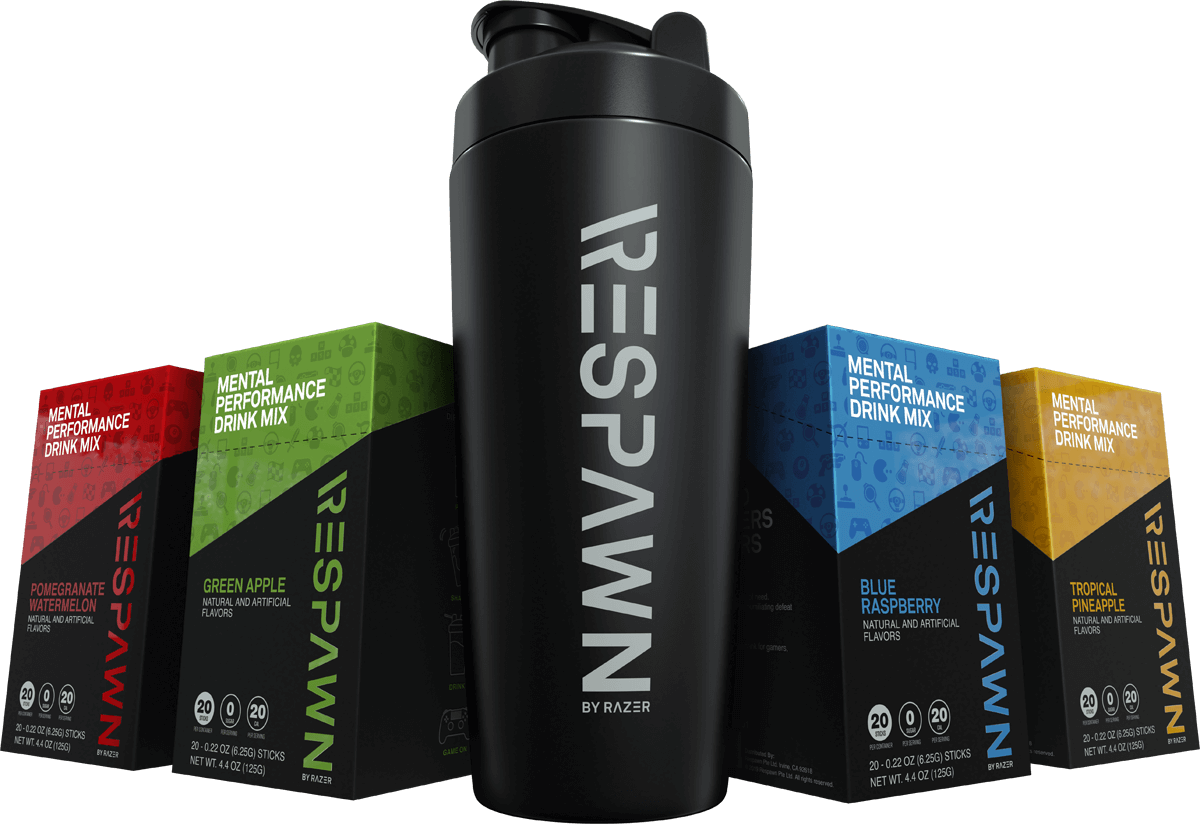 Razer's Respawn drink mix is meant to heighten mental performance