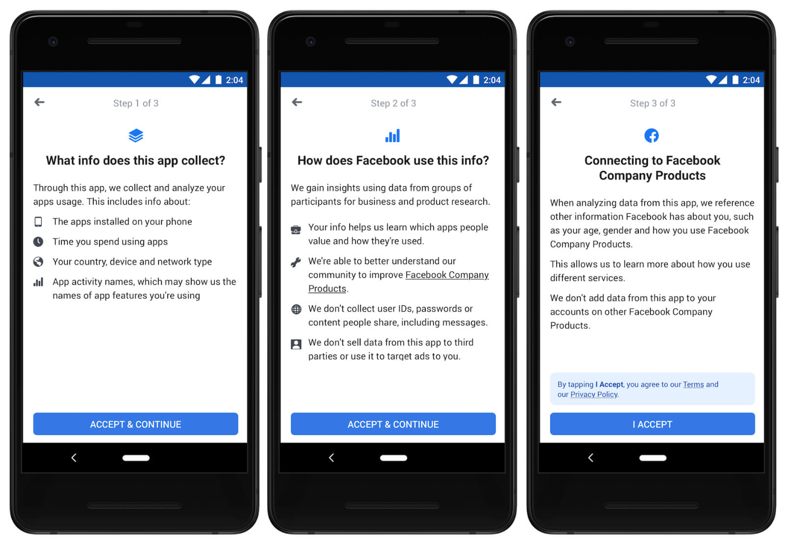 Study from Facebook is a research app that will pay you in exchange