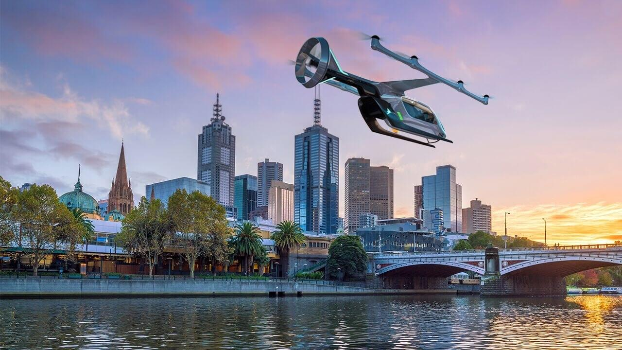 Uber picks Melbourne as third test city for its flying taxi service