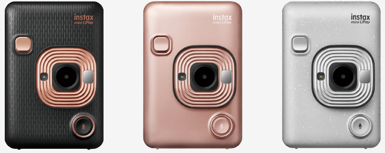 Fujifilm's instax mini LiPlay instant camera strikes out with audio