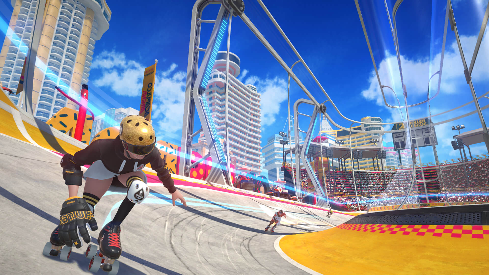 Roller Champions from Ubisoft looks to steal some of Rocket