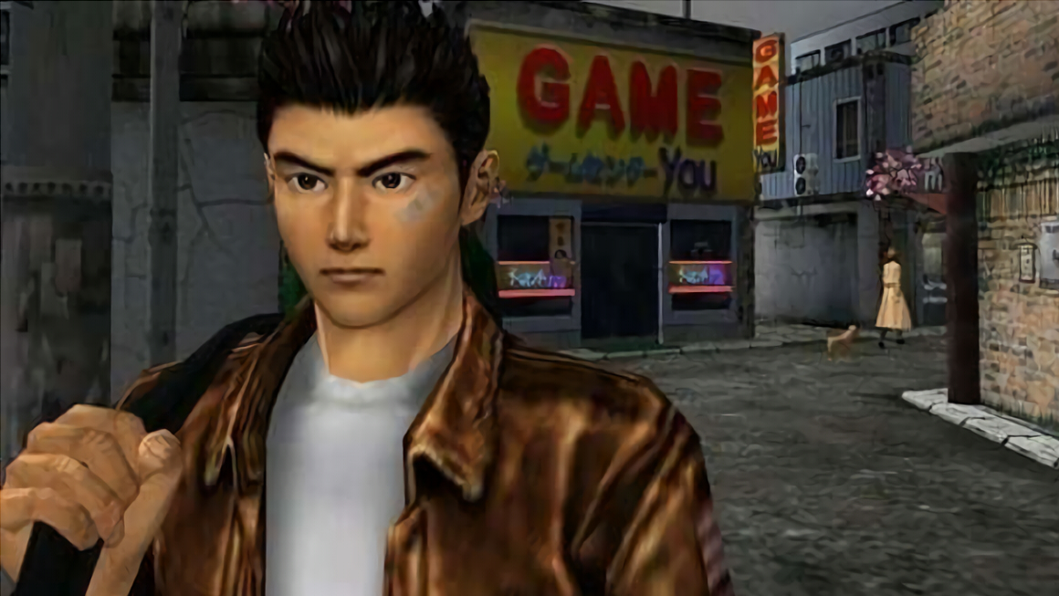 Shenmue player discovers Street Fighter tribute hidden for yearly 20 years