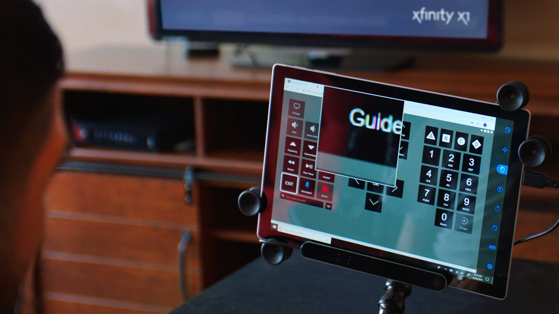 Comcast introduces eye-tracking support to its X1 web remote