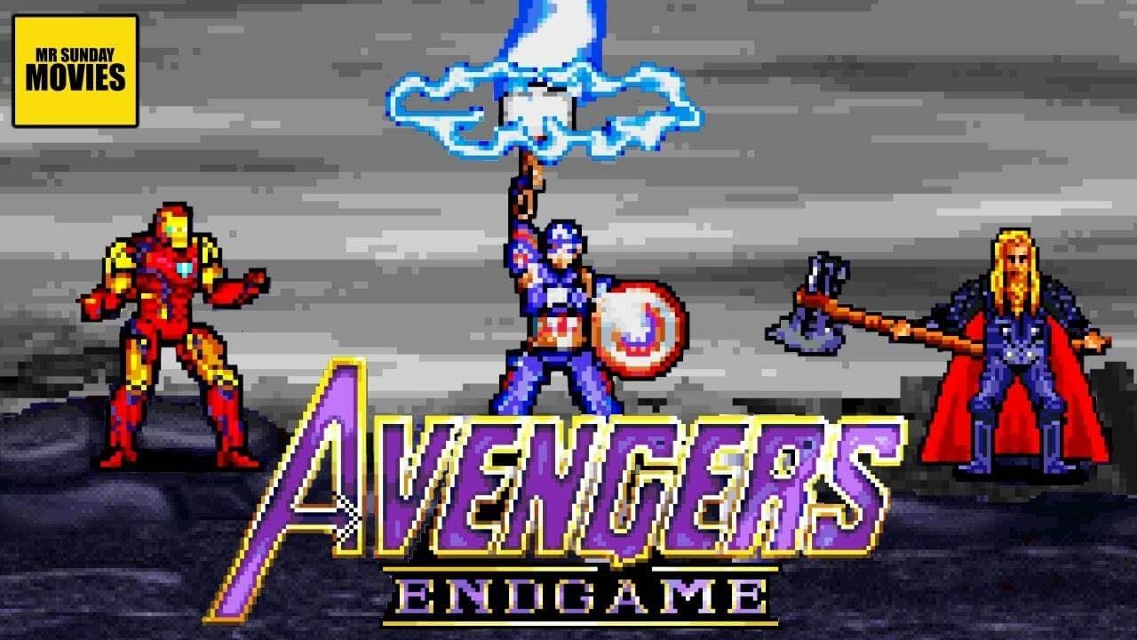 Check out this 16-bit version of Avengers: Endgame's final battle