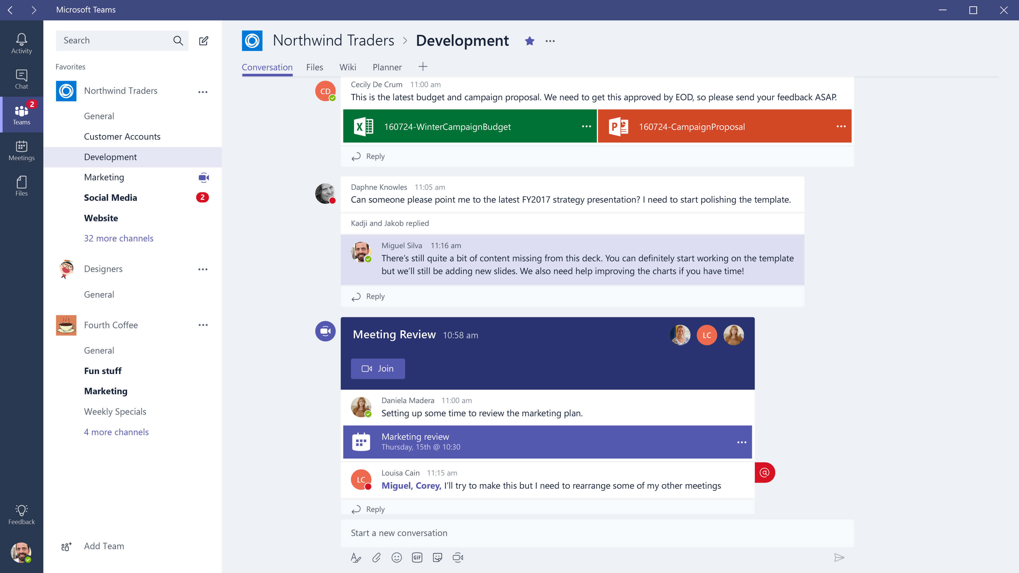 Microsoft prohibits the use of Slack internally, favors its own Teams collaboration software