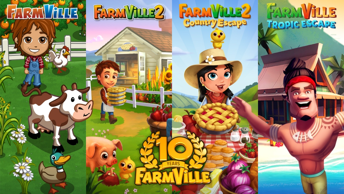 Zynga celebrates 10 years of FarmVille with a new mobile entry