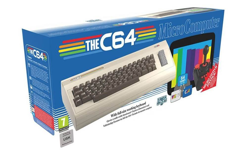 A full-size recreation of the Commodore 64 arrives this year