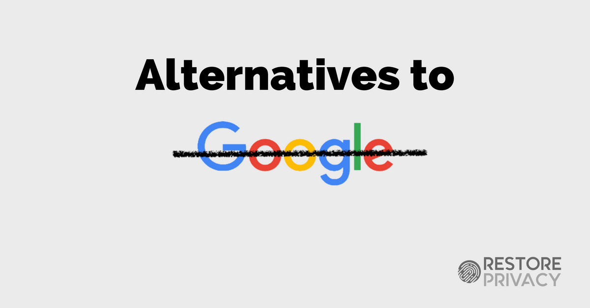 The complete list of alternatives to all Google products - TechSpot