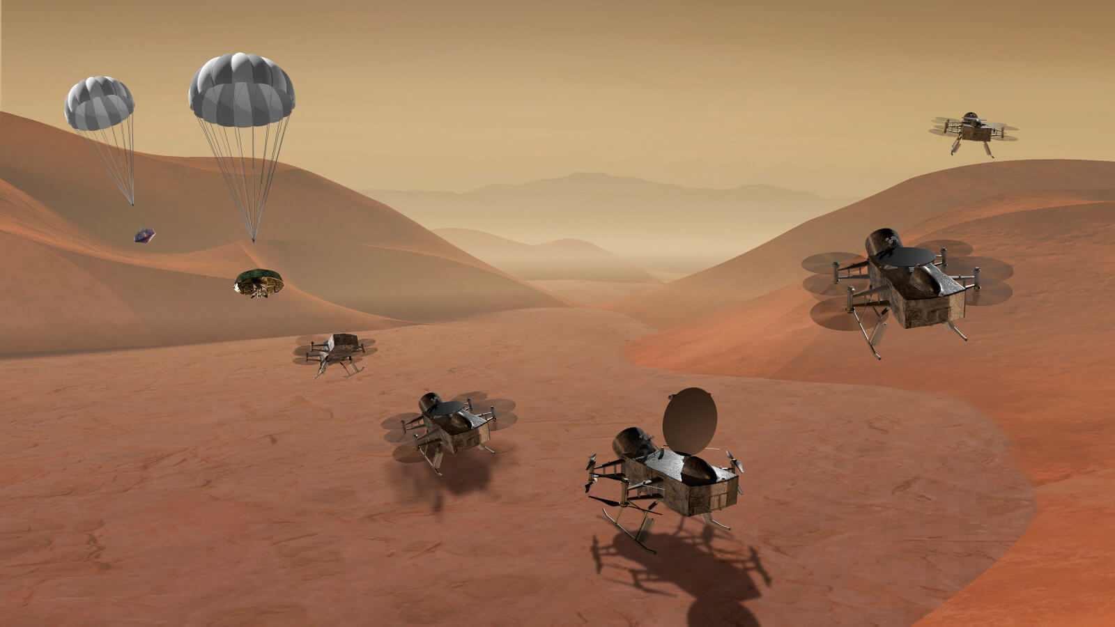 NASAs Dragonfly to explore Saturns moon for origins, signs of life