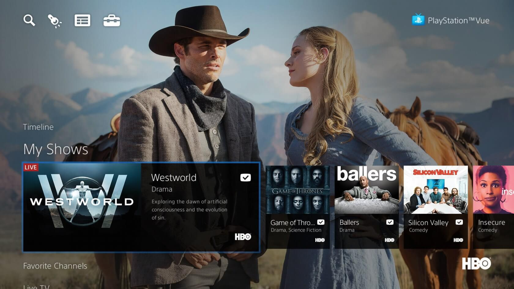 PlayStation Vue is rolling out a service-wide $5 price hike