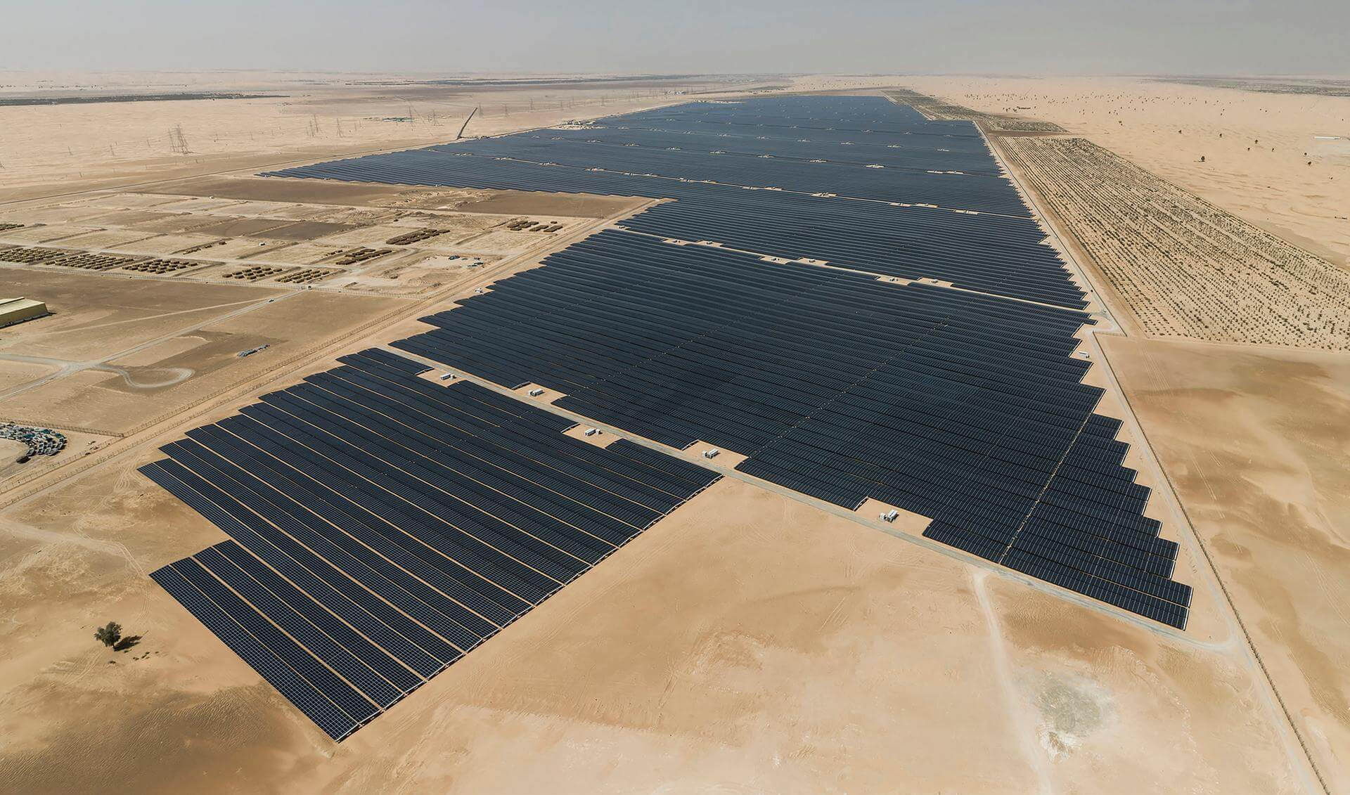 UAE powers on Noor Abu Dhabi, the world's largest solar