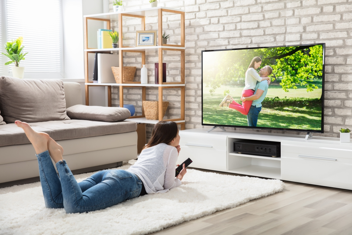 65-inch TVs are the size of choice for North American families