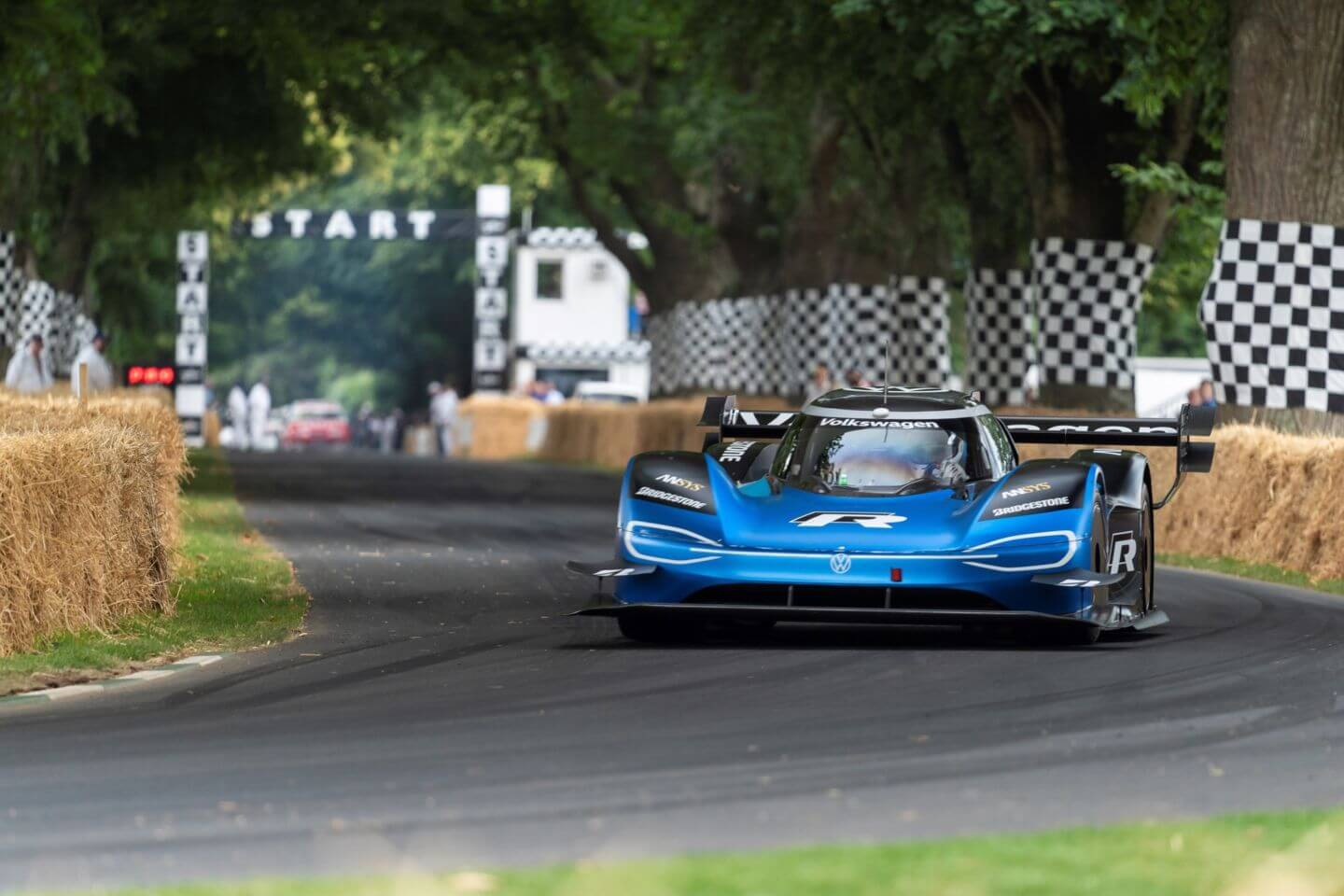 Volkswagen's electric car smashes 20-year-old Goodwood Festival of Speed record