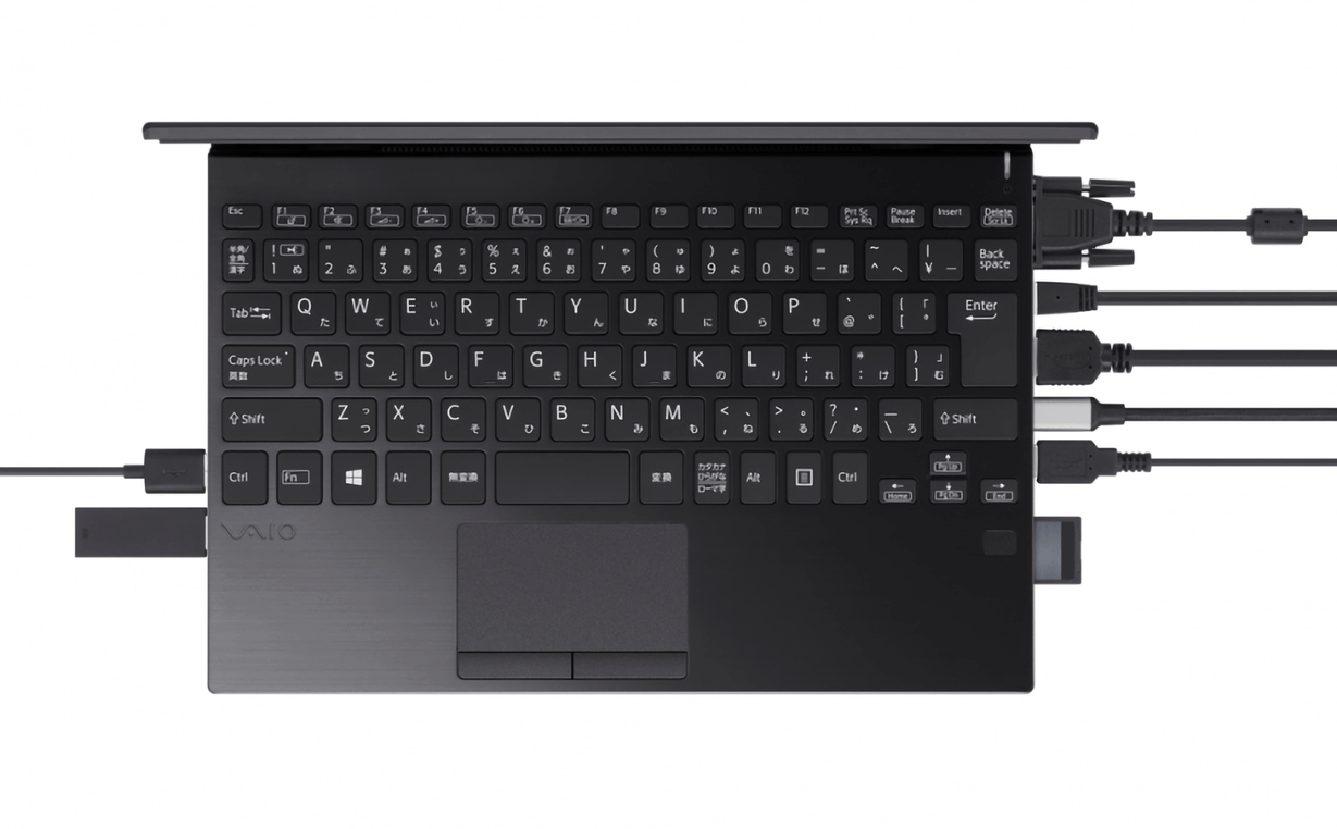 Check out the Vaio SX12, a small laptop that's packed with ports