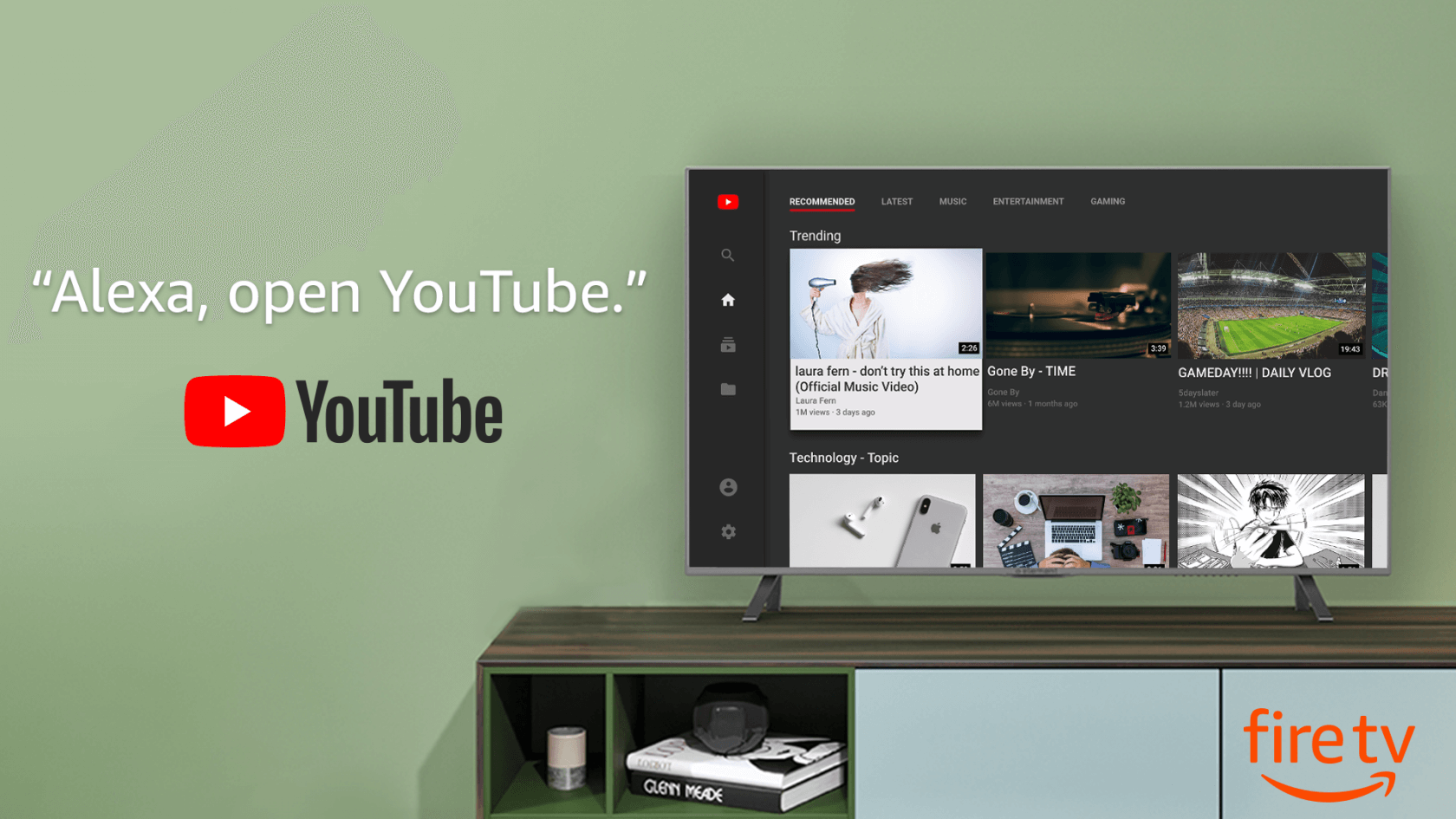 The official YouTube app has finally returned to Amazon Fire TV