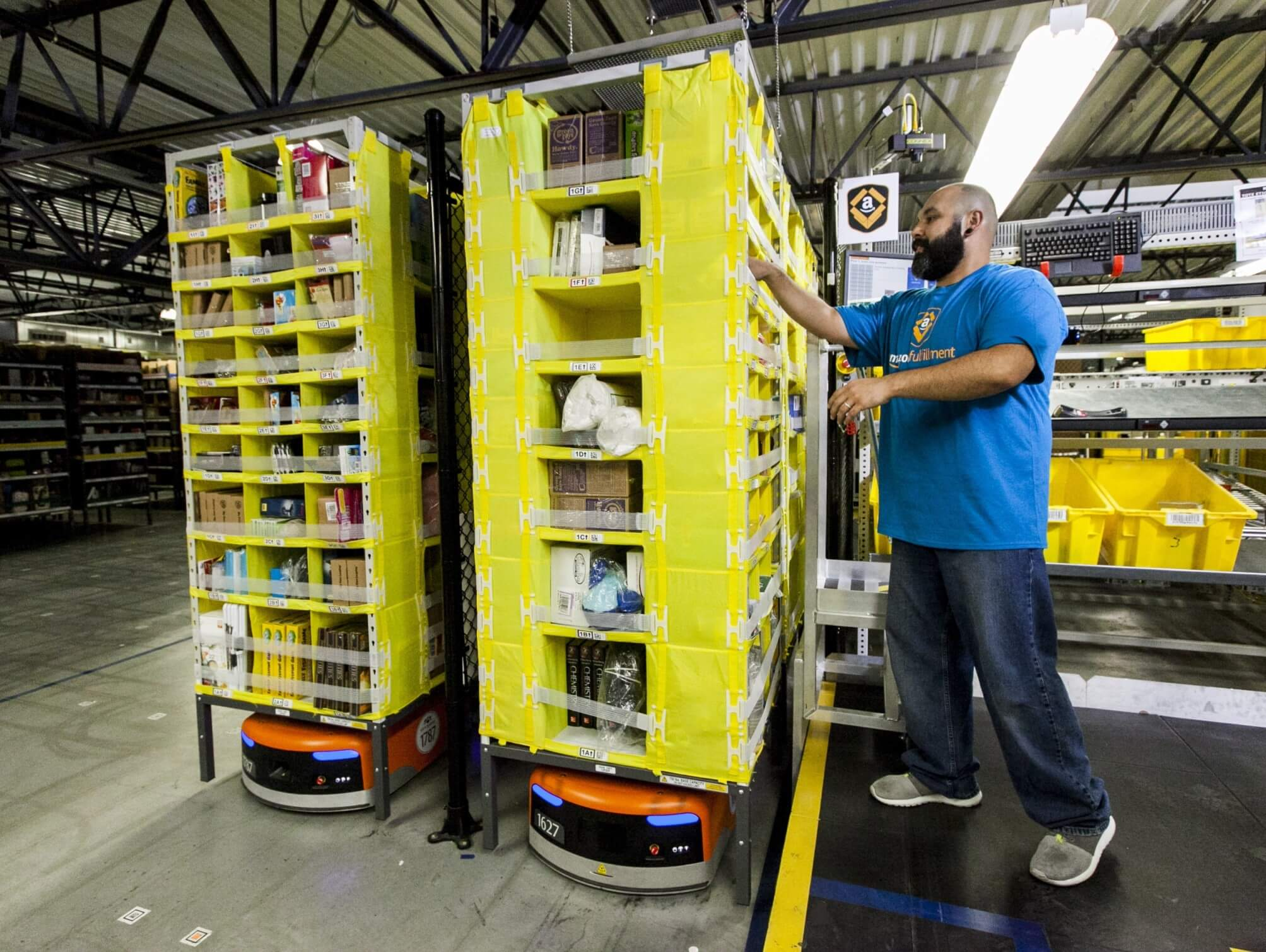 Amazon spends $700M to retrain 100,000 employees affected by automation