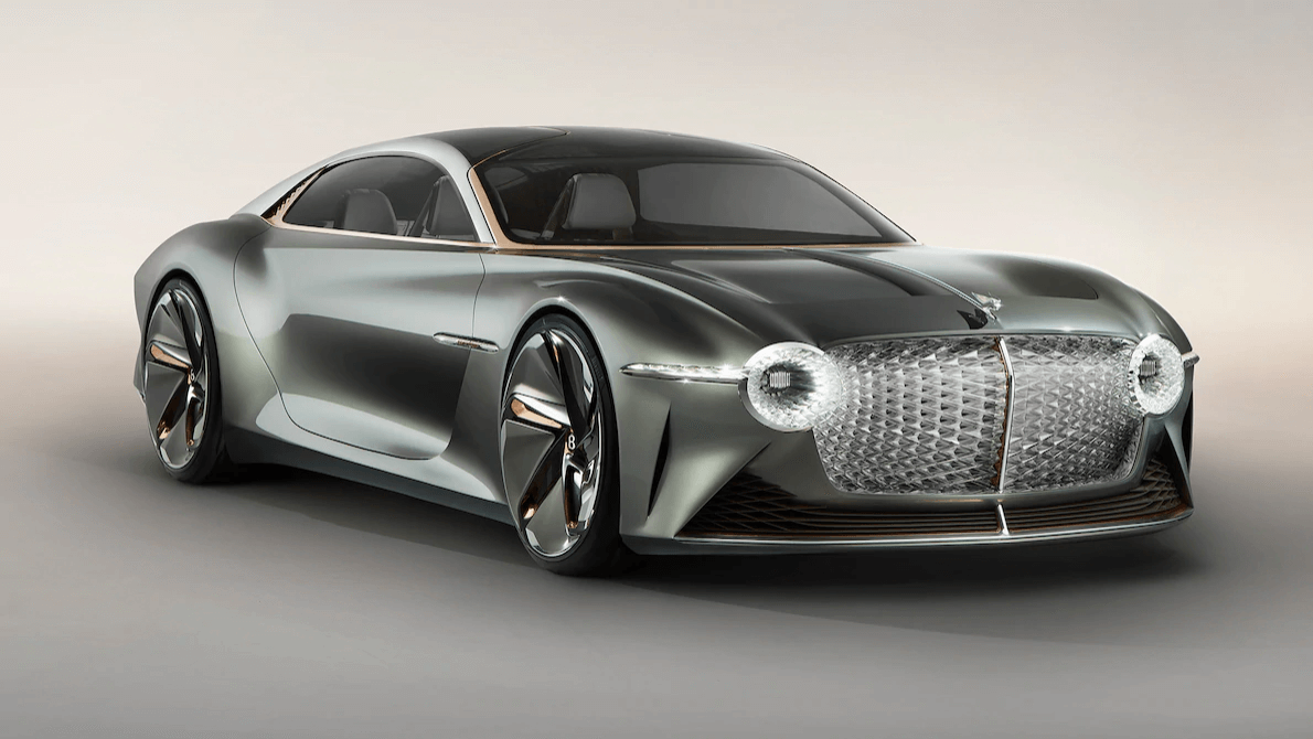 The Bentley EXP 100 GT is an EV concept of luxury with blood-pressure monitoring AI