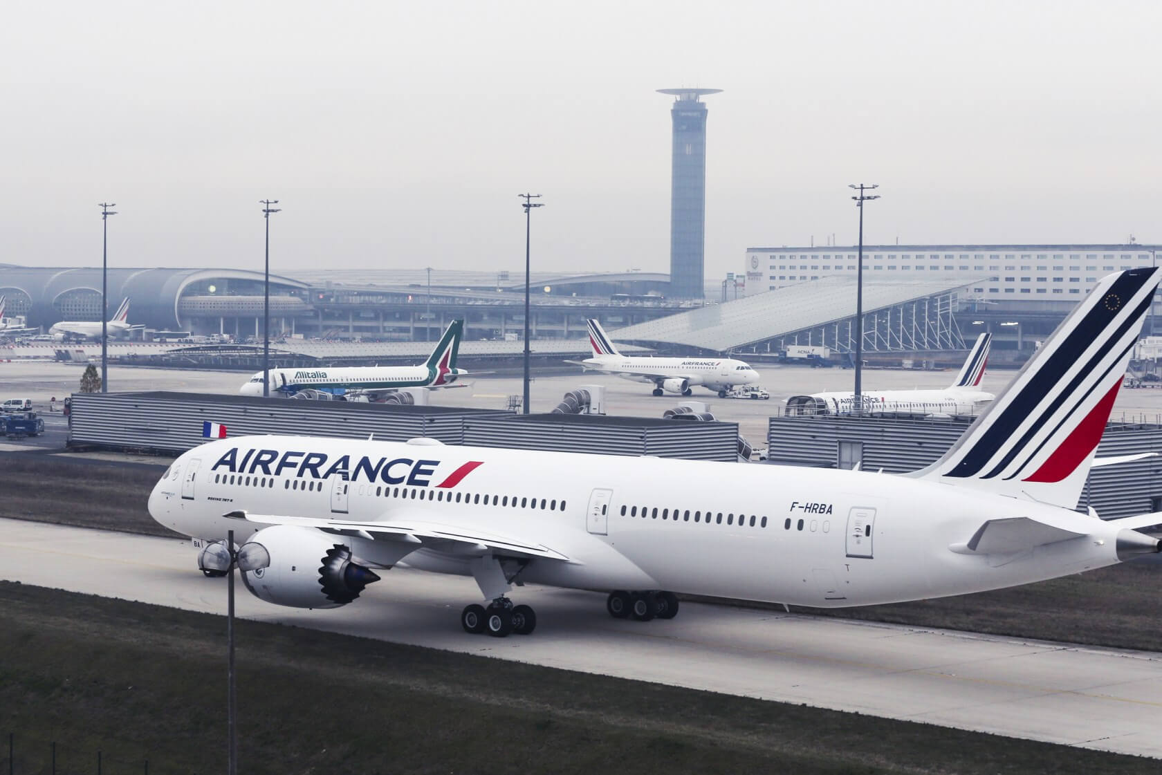 Air France plans to experiment with using facial recognition in place of boarding passes