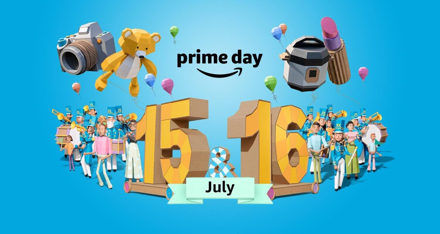 Happy Prime Day: Over 200 hand-picked Amazon tech deals available