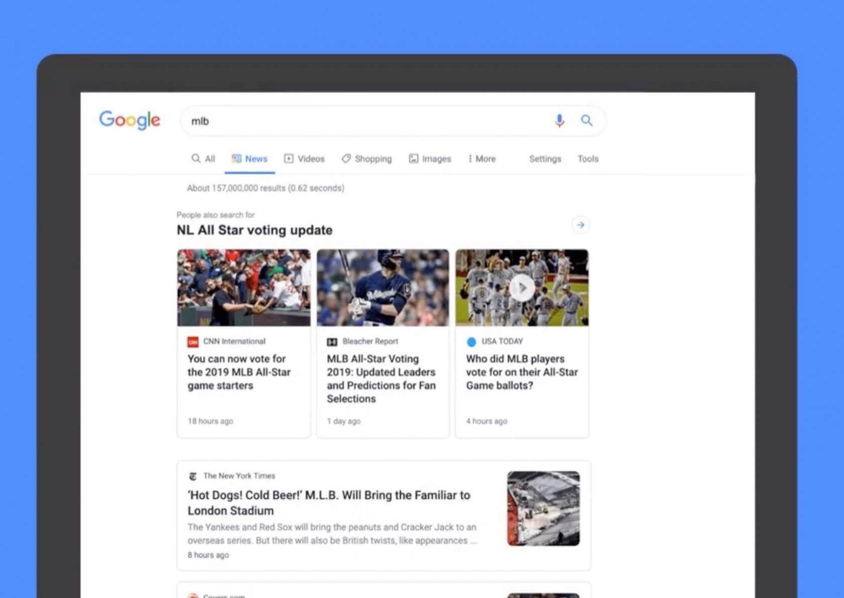 Google is redesigning its News tab in Search to be more readable