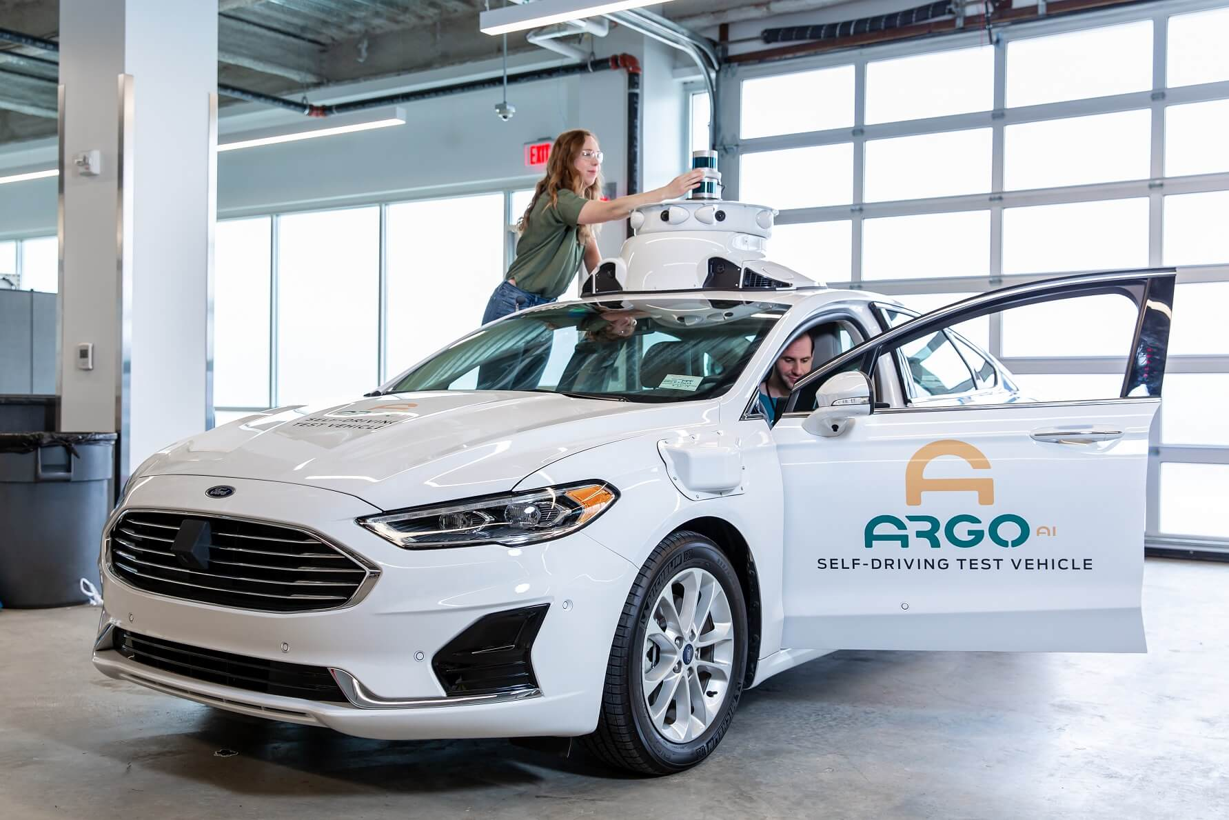 Ford and VW now own an equal stake in Argo AI, the self-driving car startup